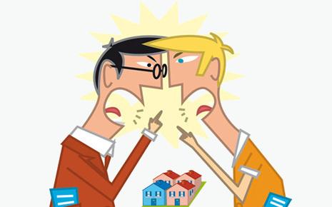 Conflit entre voisins ou problème contrat de bail