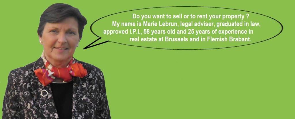 Marie Lebrun specialist real estate Brussels, Jette 1090, Ganshoren 1083, Wemmel 1780, Relegem 1731, Brussegem 1785, Mollem 1730, Merchtem 1785
